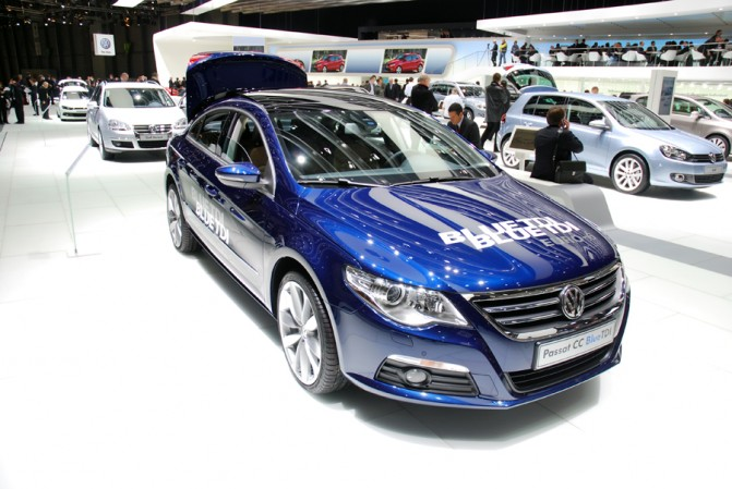 VW CC BlueTDI photo 13
