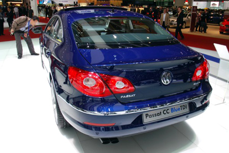VW CC BlueTDI photo 14