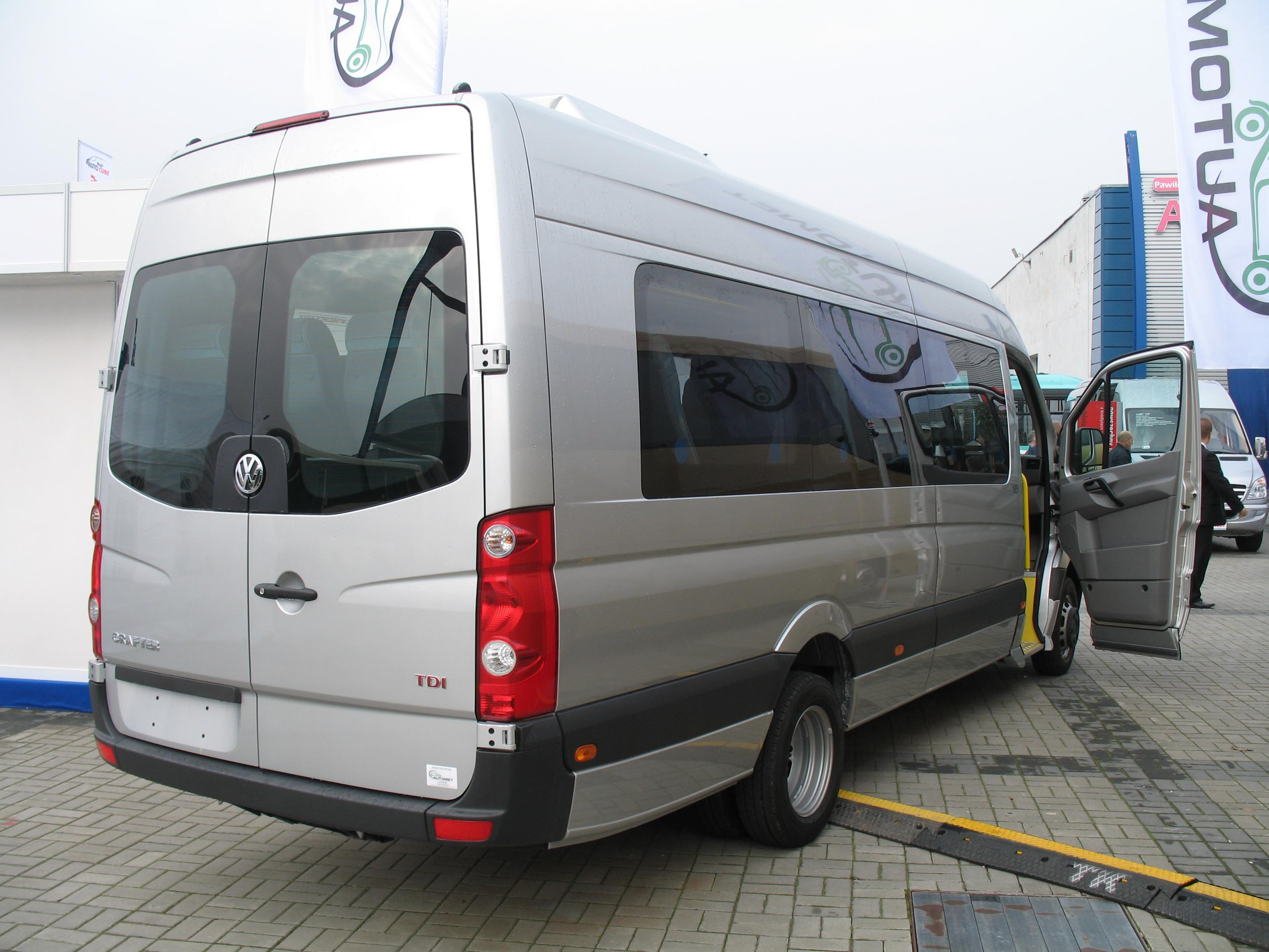 vw crafter technical details, history, photos on better parts ltd