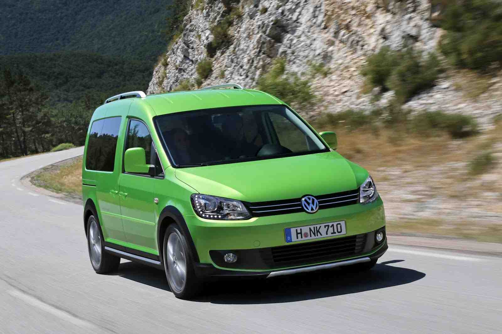 VW Cross Caddy technical details, history, photos on