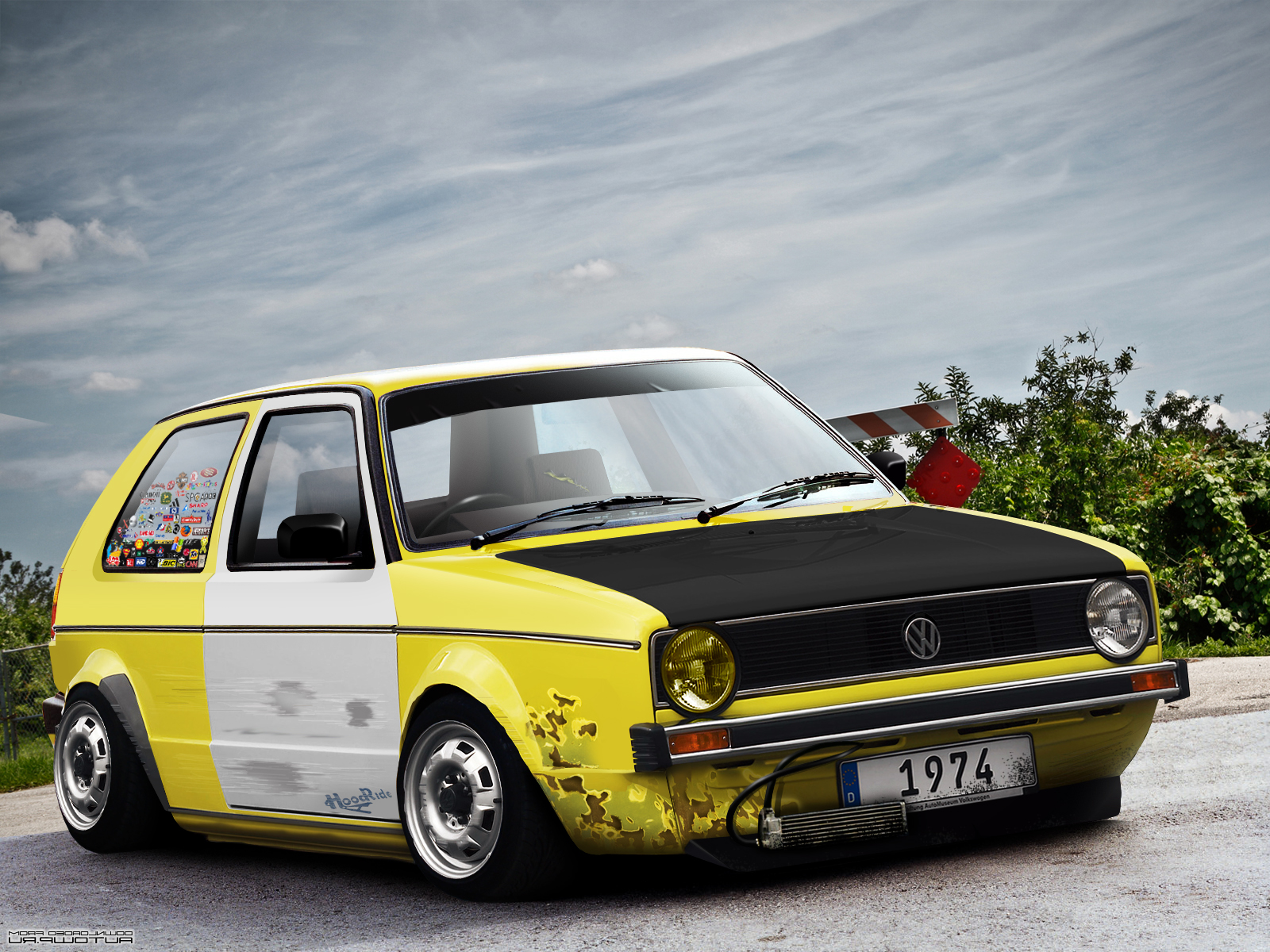 VW Golf 1 photo 05