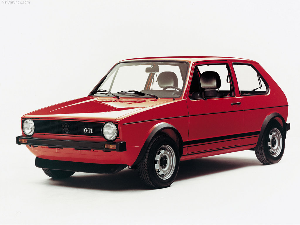 VW Golf 1 photo 12