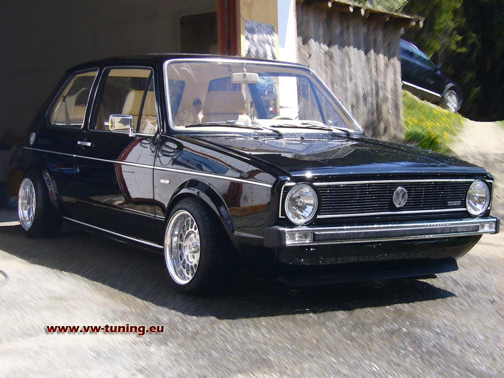 VW Golf 1 GTI photo 02