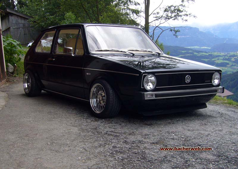 VW Golf 1 GTI photo 03