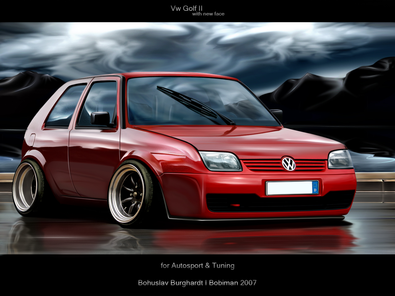 VW Golf 2 photo 02