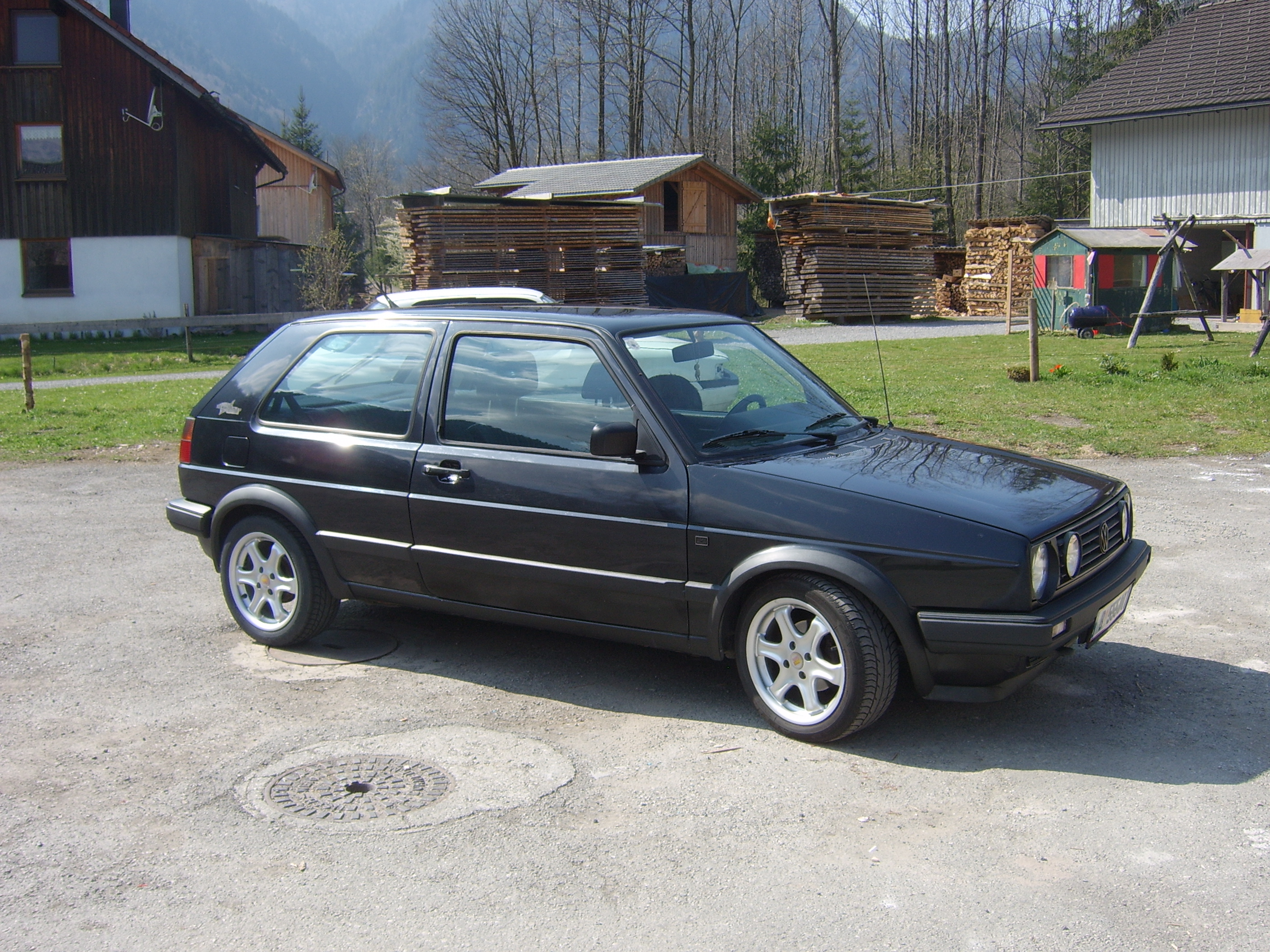 VW Golf 2 photo 03