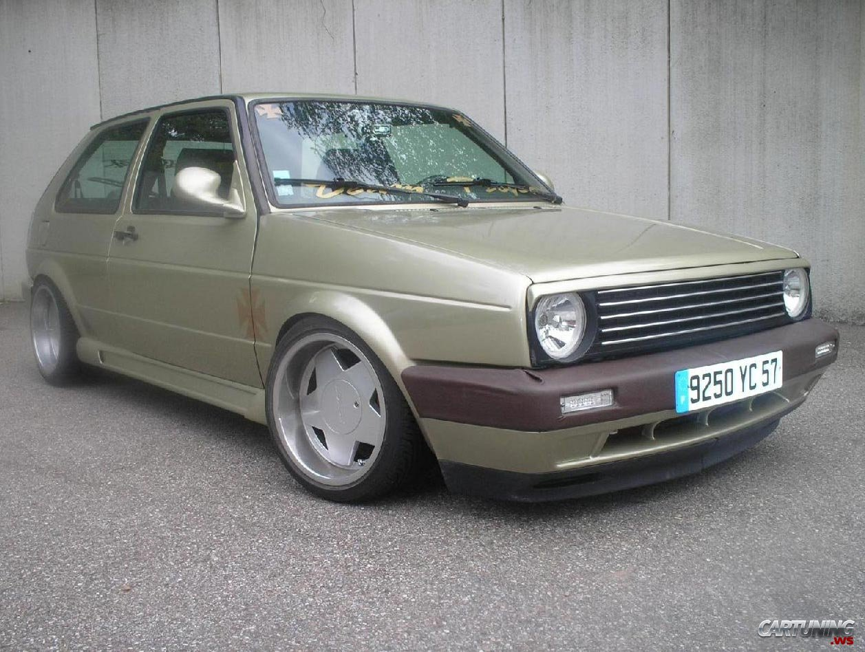 VW Golf 2 photo 12