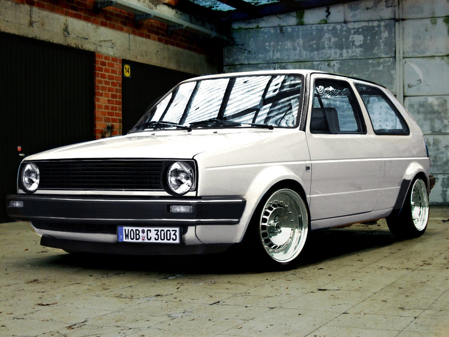 VW Golf 2 photo 14