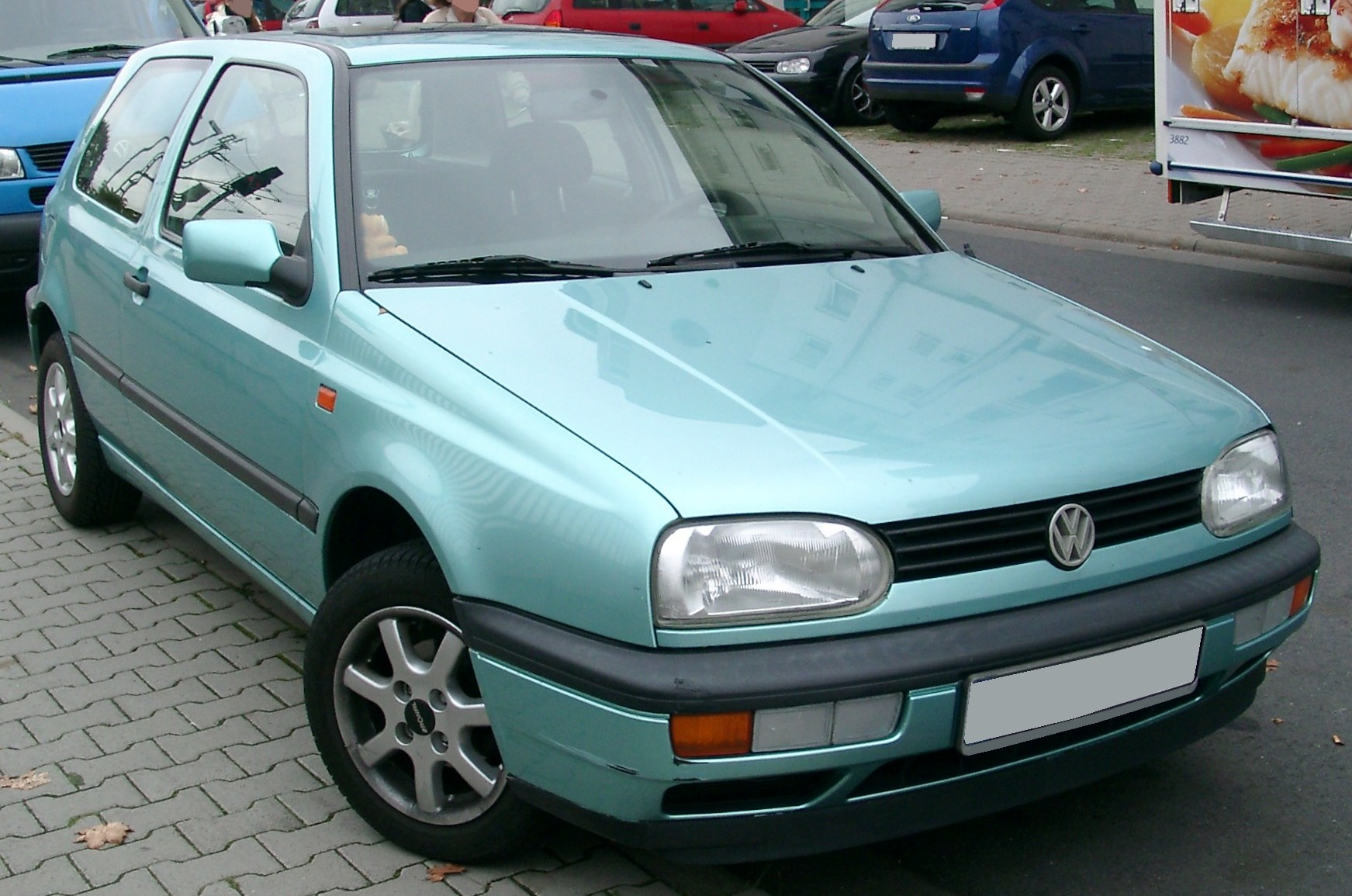 VW Golf 3 technical details, history, photos on Better Parts LTD