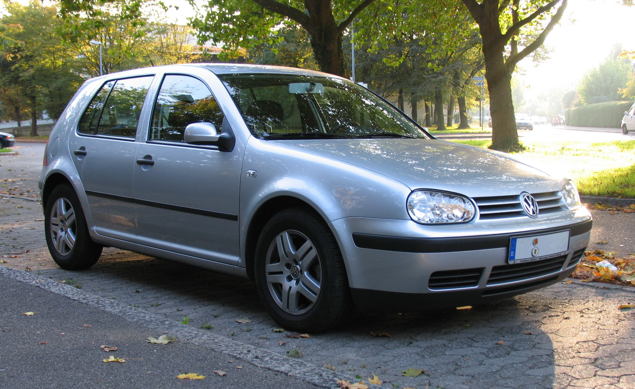 vw golf 4 technical details history photos on better. Black Bedroom Furniture Sets. Home Design Ideas