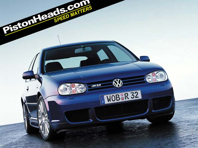VW Golf R32 photo 12