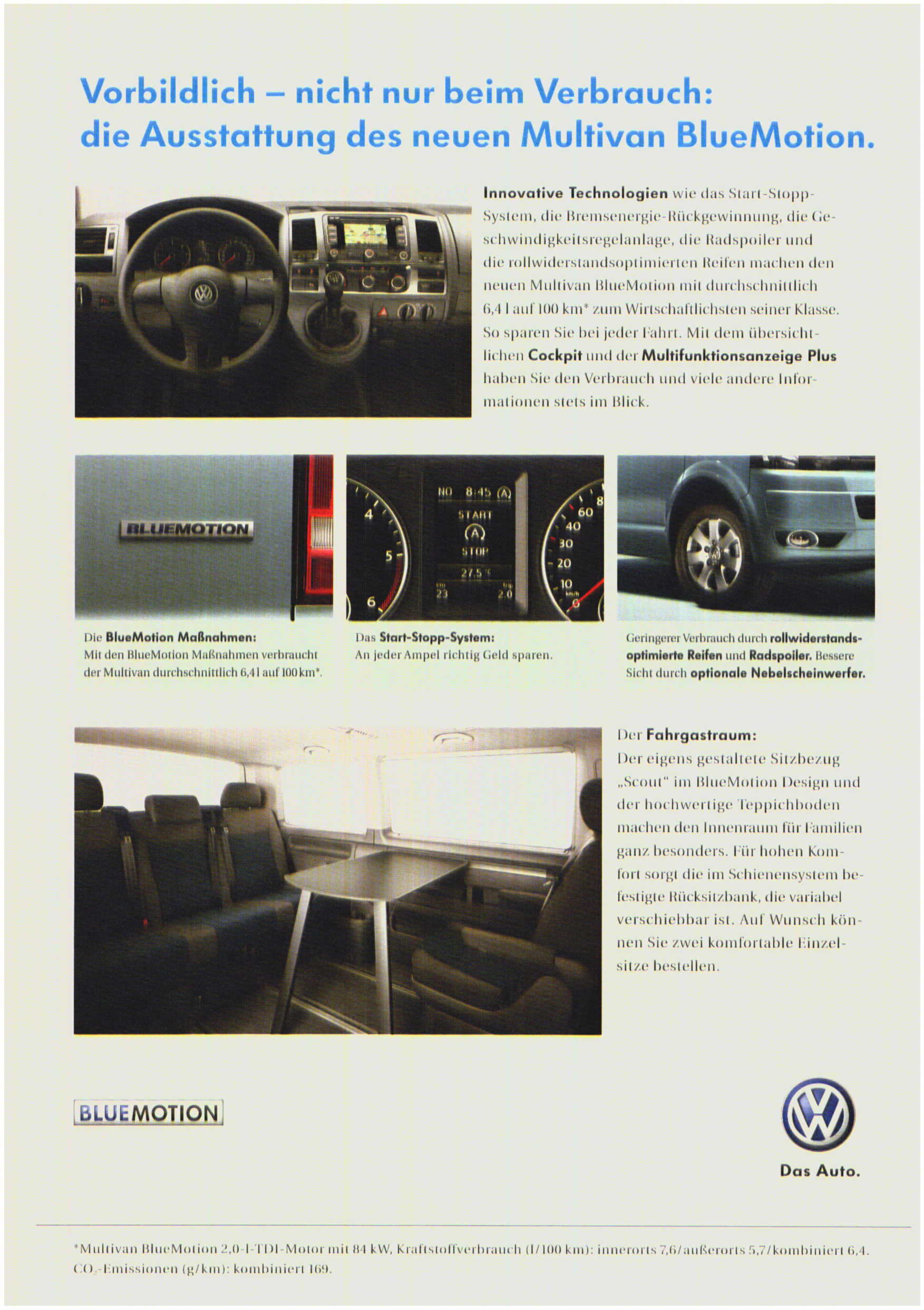 VW Multivan BlueMotion image #7