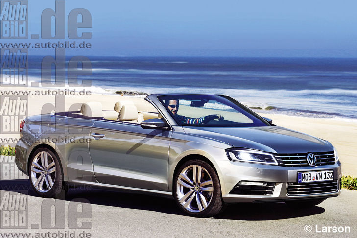 VW Passat Cabrio photo 10