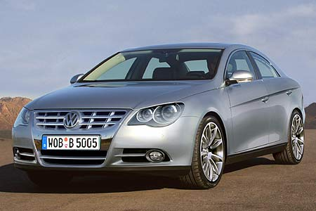 VW Passat Coupe photo 13