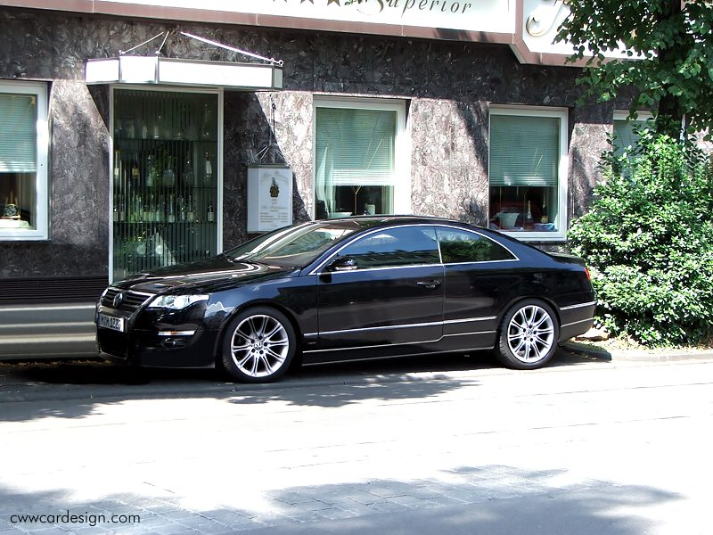 VW Passat Coupe photo 15
