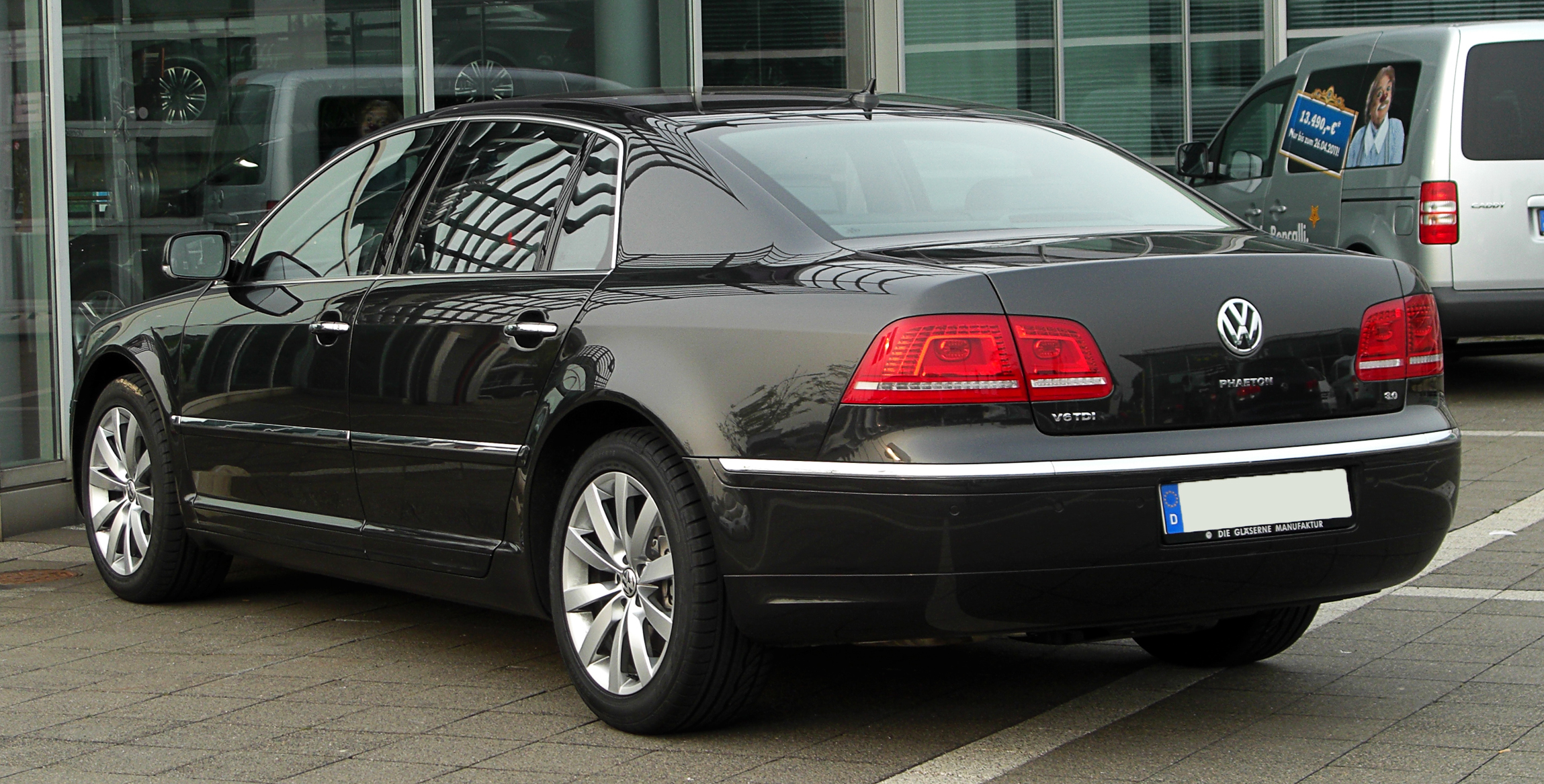 VW Phaeton V6 TDI 3.0 photo 02