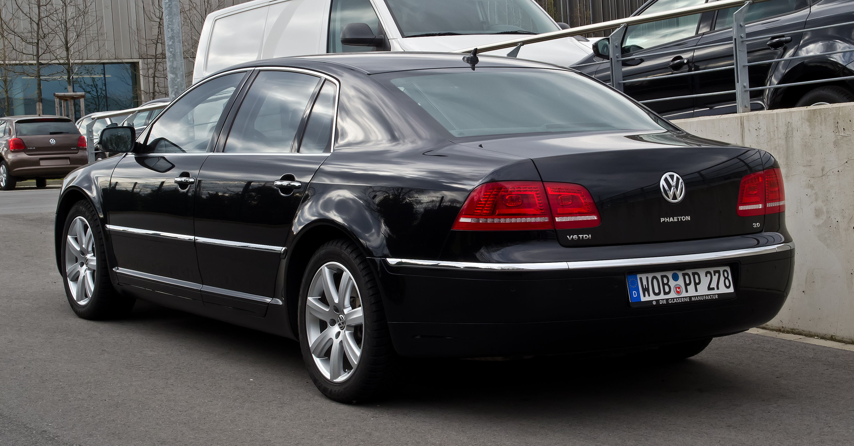 VW Phaeton V6 TDI 3.0 photo 15