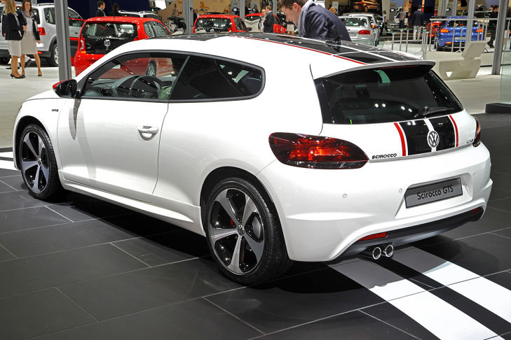 VW Scirocco GTS image #11