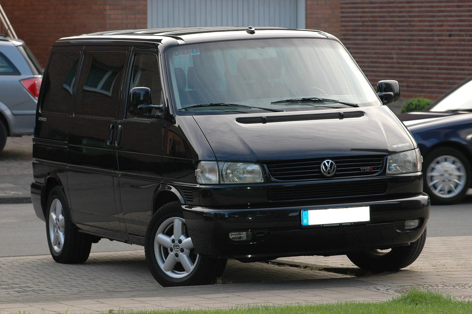 vw t4 multivan technical details history photos on better parts ltd. Black Bedroom Furniture Sets. Home Design Ideas