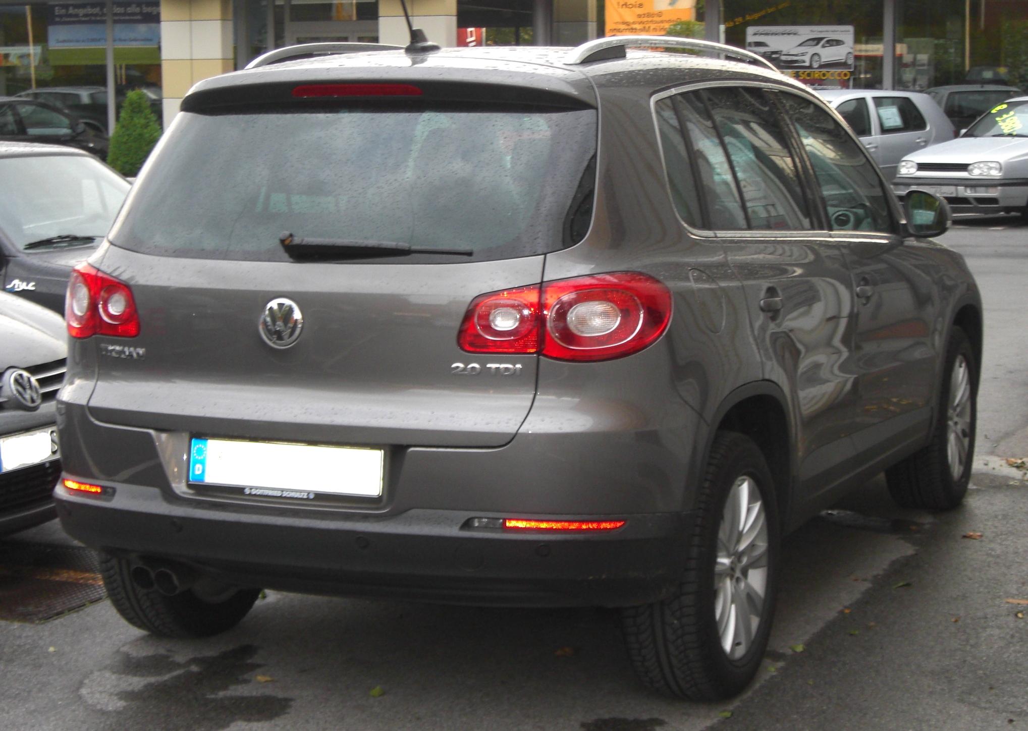VW Tiguan 20 TDI technical details history photos on Better