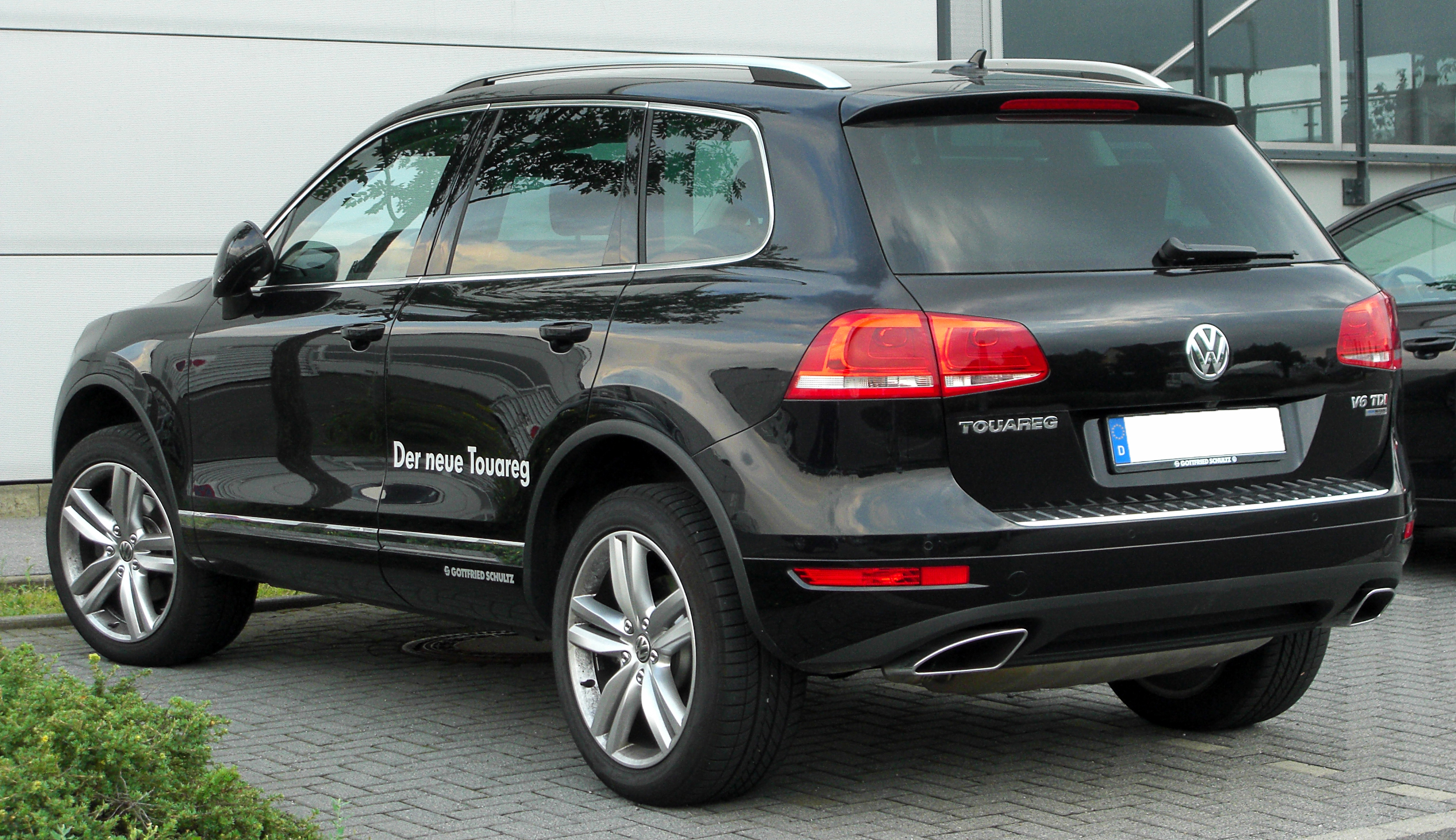 vw touareg v6 tdi technical details history photos on better parts ltd. Black Bedroom Furniture Sets. Home Design Ideas