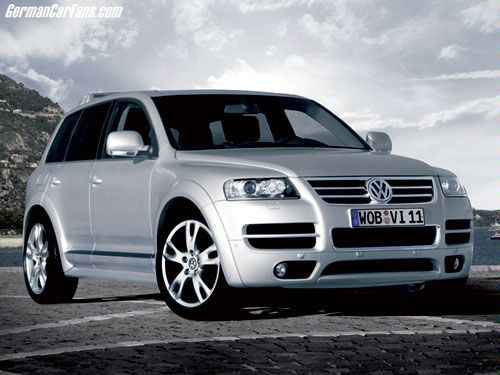 VW Touareg W12 Executive photo 02