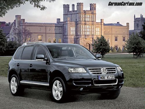 VW Touareg W12 Executive photo 09