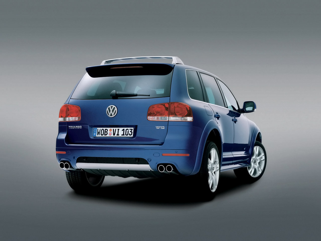 VW Touareg W12 Sport Edition photo 08