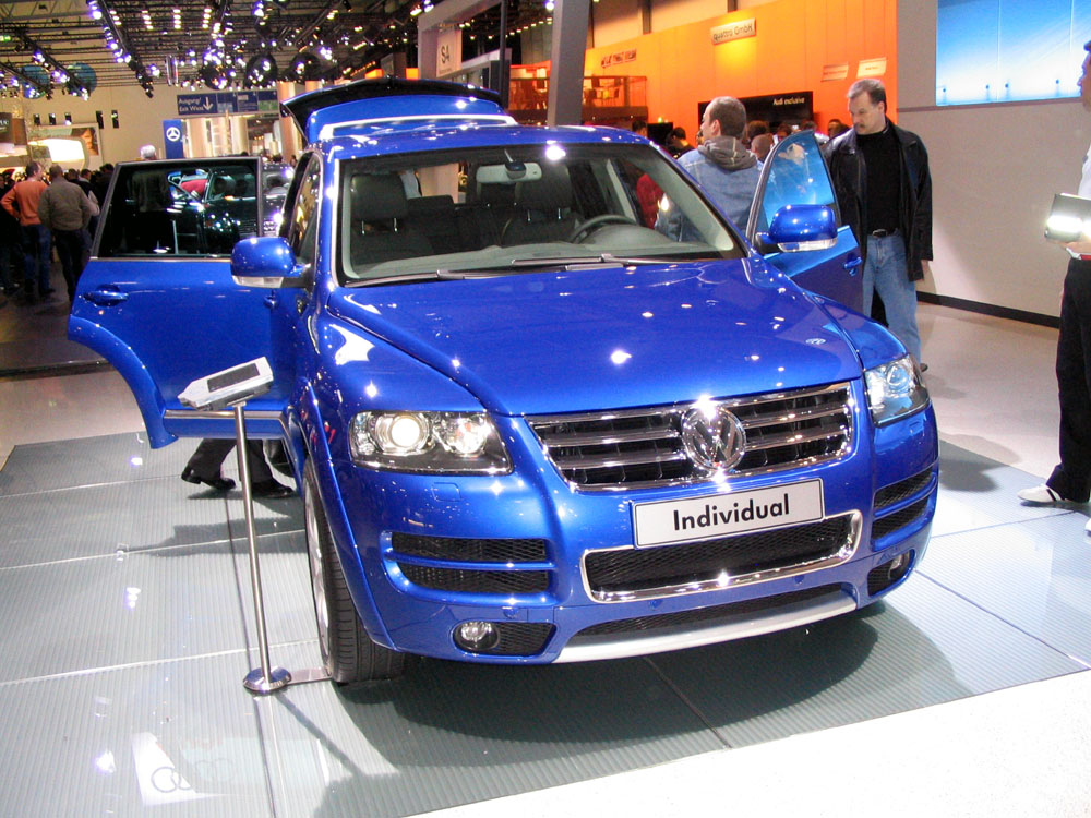 VW Touareg W12 Sport Edition photo 15