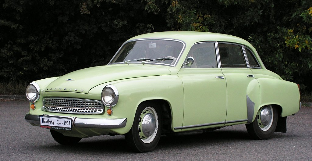 Wartburg 311 history, photos on Better Parts LTD