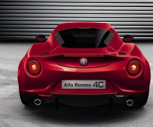 Alfa-Romeo 4C photo 4