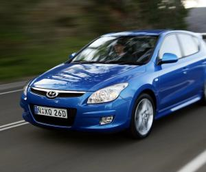 Hyundai i30 blue photo 1