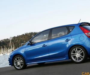 Hyundai i30 blue photo 3
