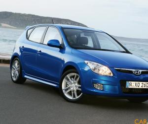 Hyundai i30 blue photo 4