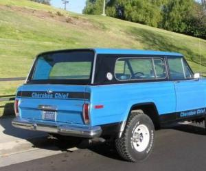 Jeep Cherokee Chief photo 1