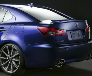 Lexus IS-F photo 9