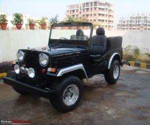 Mahindra CJ photo 6