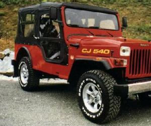 Mahindra CJ photo 14