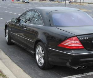 Mercedes-Benz CL 55 AMG photo 9