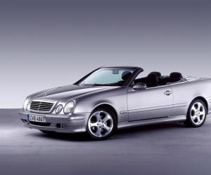 Mercedes-Benz CLK Cabrio photo 7