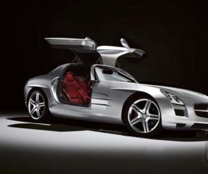 Mercedes-Benz SLS AMG photo 9