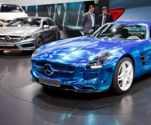 Mercedes-Benz SLS AMG Electric Drive image #9