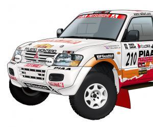 Mitsubishi Pajero Dakar photos #15 on Better Parts LTD