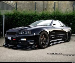 NISSAN Skyline photo 1