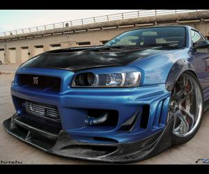 NISSAN Skyline photo 3