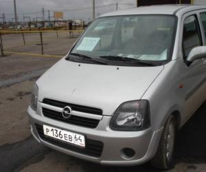 Opel Agila photo 11