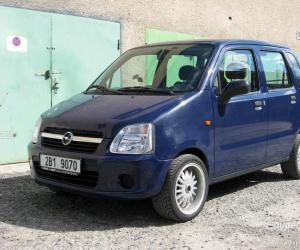 Opel Agila photo 12