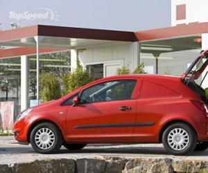 Opel Corsa Van photo 8