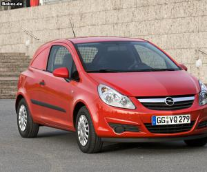 Opel Corsa Van photo 9