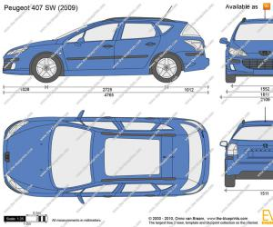 Peugeot 407 SW Business Line image #6